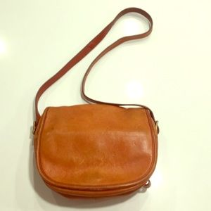 Vintage J.Crew leather purse